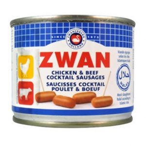 Zwan Cocktail Chicken Sausge 200g
