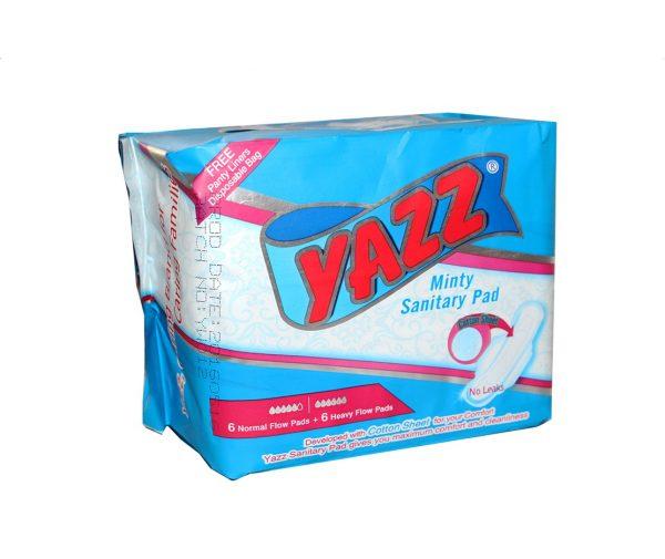 Yazz Minty Sanitary Pad